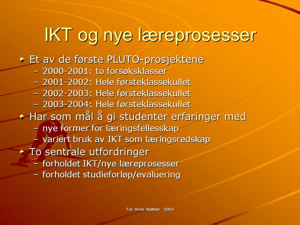 Tor Arne Wølner -2003 Hva skal i den offentlige arbeidsmappen.