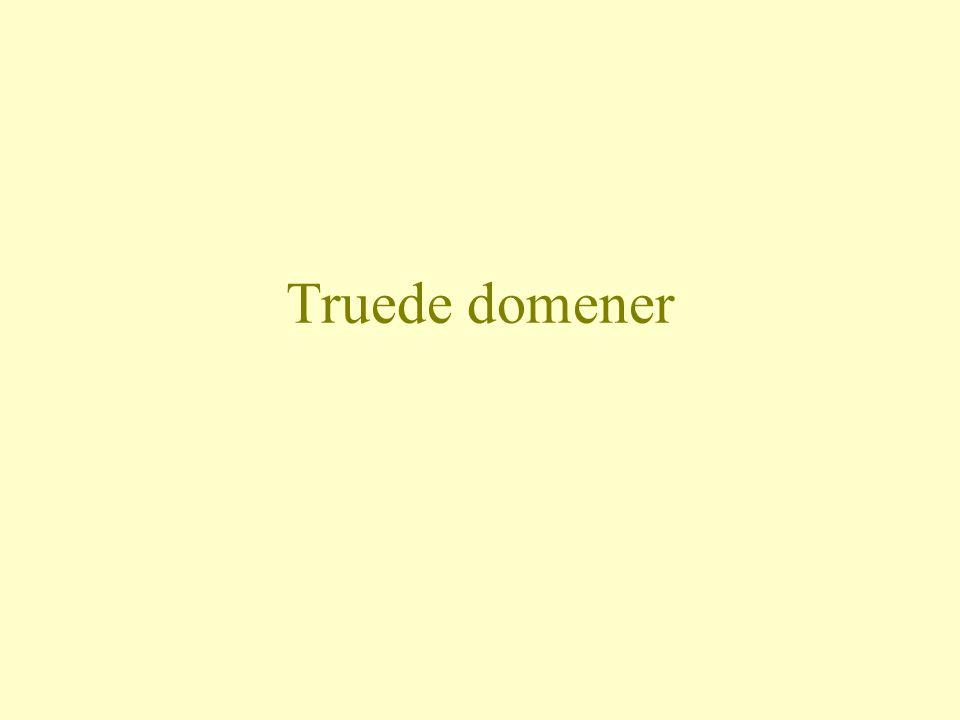 Truede domener