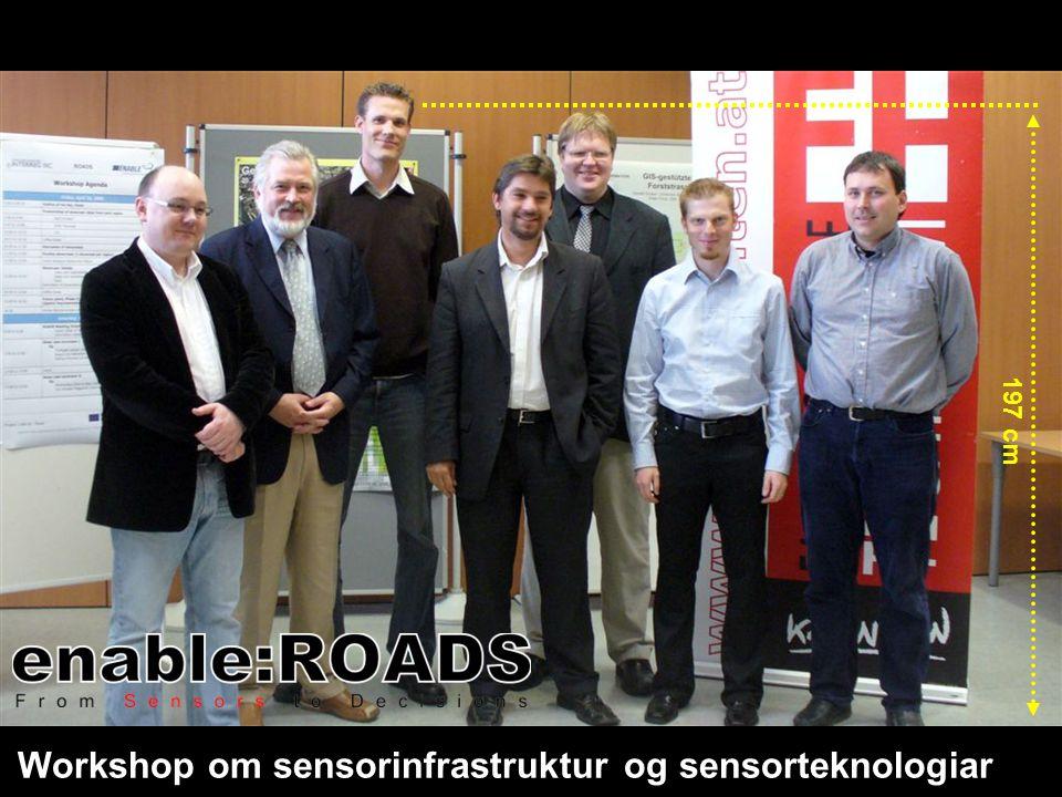 Workshop om sensorinfrastruktur og sensorteknologiar 197 cm