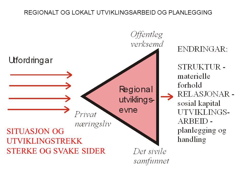 (Bilde frå frifylkeevalueringa 1990) OFFENTLEG ORGANISERING