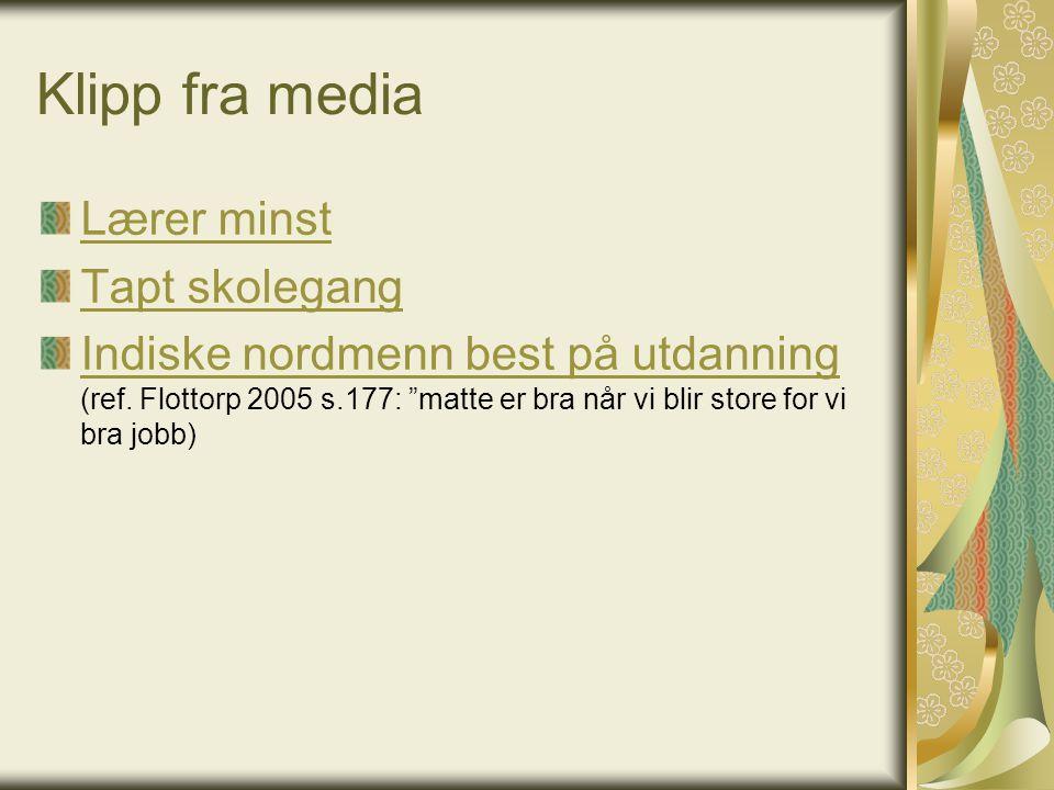 Kilder K Høines, M.J. (1998). Begynneropplæringen.