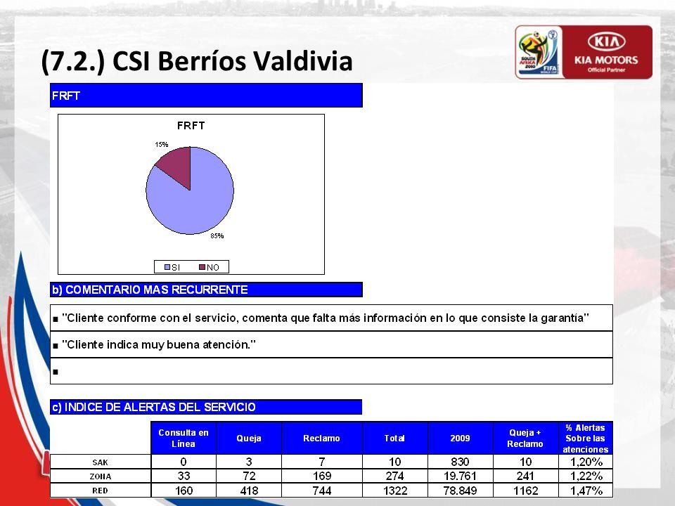 (7.2.) CSI Berríos Valdivia
