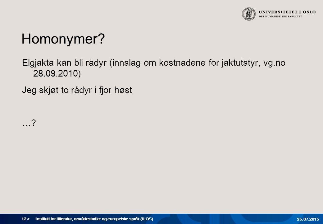 12 > Homonymer.