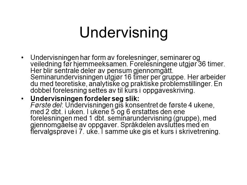 Syntaks (setningsstruktur) Analyse: dele opp/dissekere setninger i fraser vha.