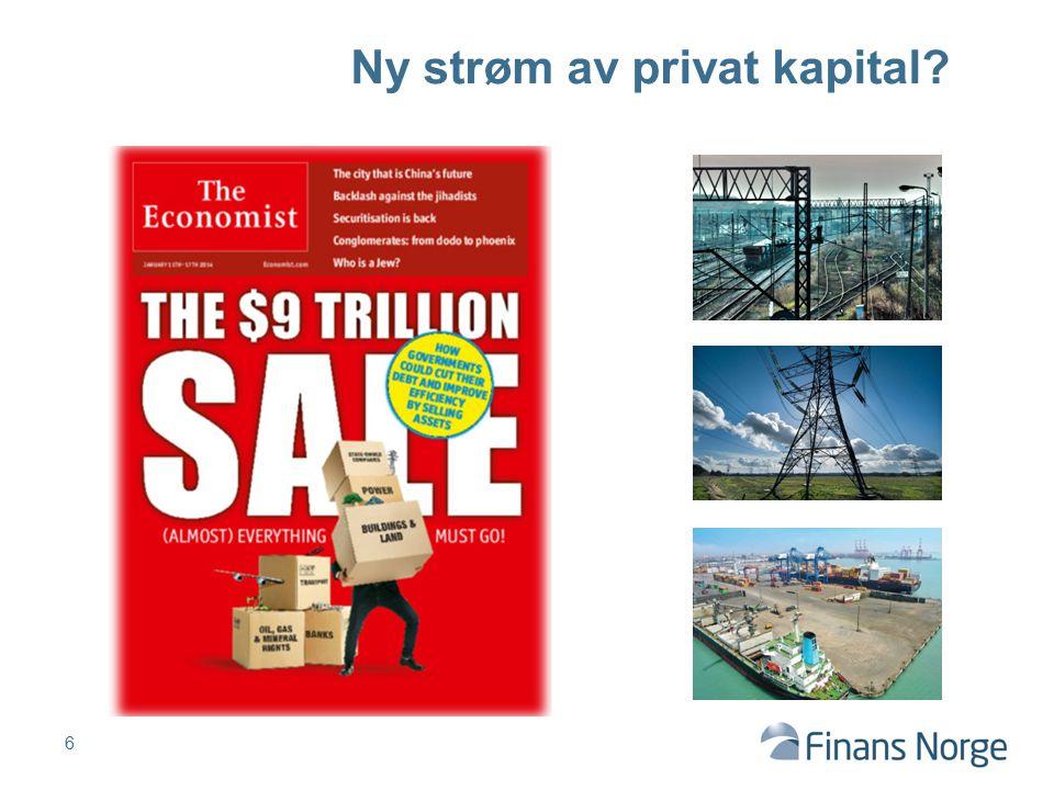 6 Ny strøm av privat kapital?