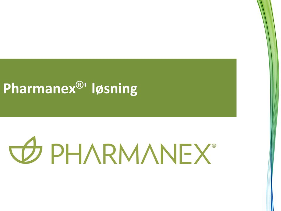 Pharmanex ® ' løsning