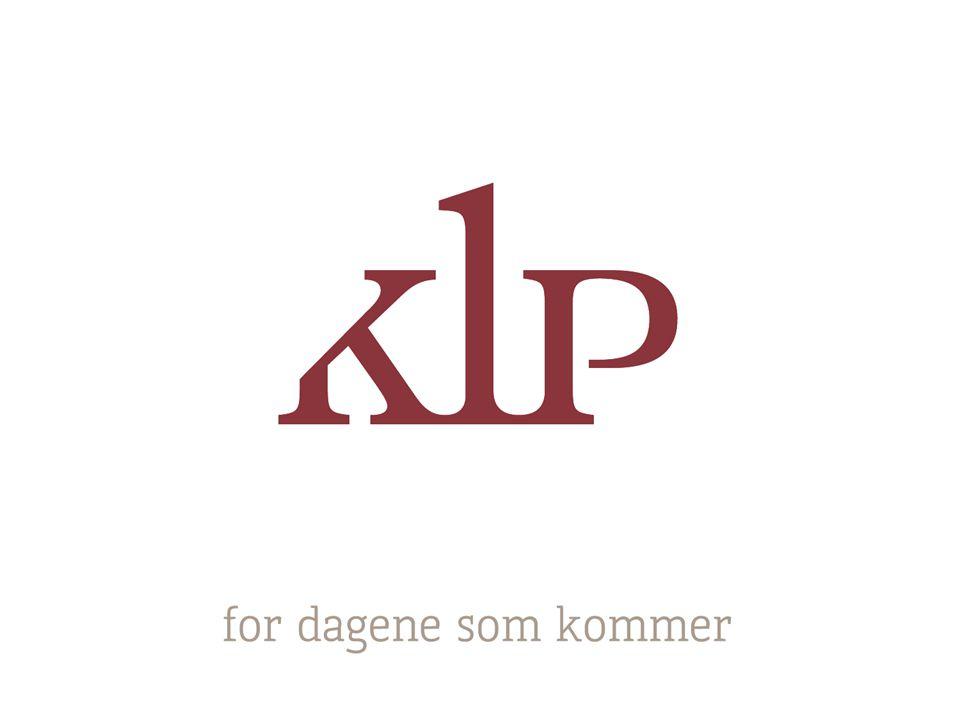 KLP tar samfunnsansvar - og setter spor KLP er en ansvarlig investor og eier Vi ekskluderer selskaper som bryter med internasjonale normer Vi søker muligheter til positiv påvirkning av selskaper Ingen kan gjøre alt, men alle kan gjøre noe