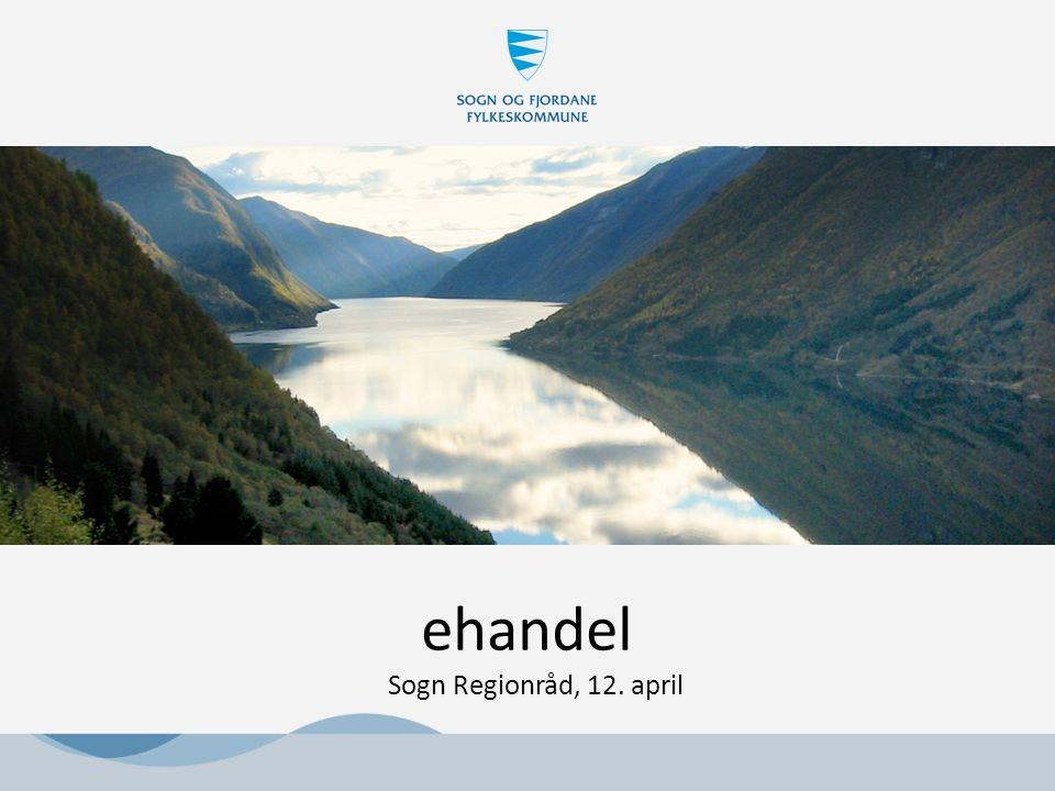 ehandel Sogn Regionråd, 12. april