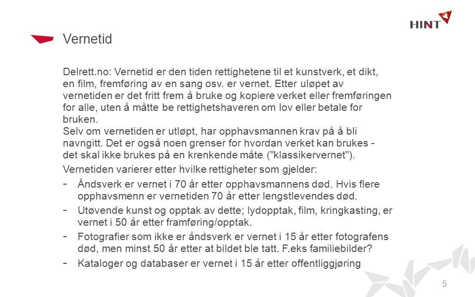 Vernetid Store norske leksikon: Opphavsretten er imidlertid ikke evigvarende.