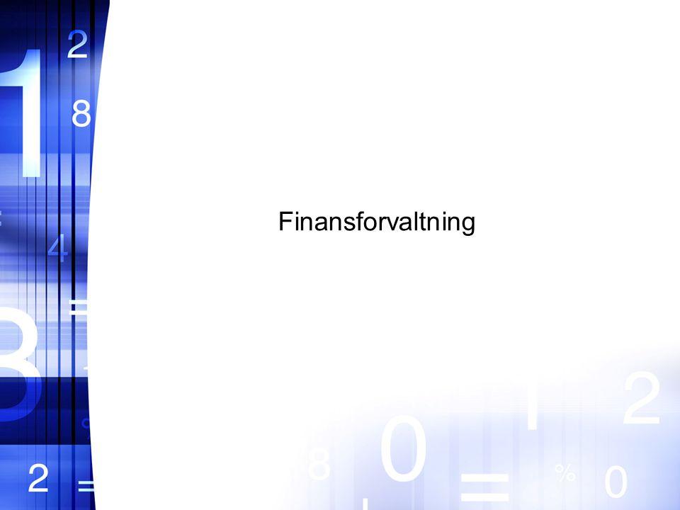 Finansforvaltning