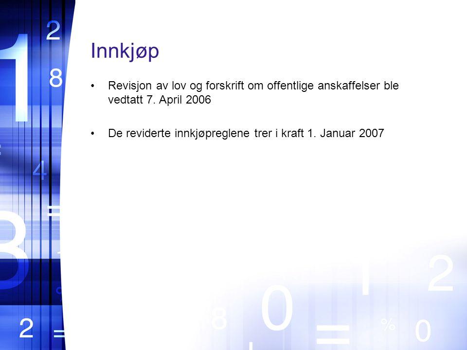 Revisjon av lov og forskrift om offentlige anskaffelser ble vedtatt 7.