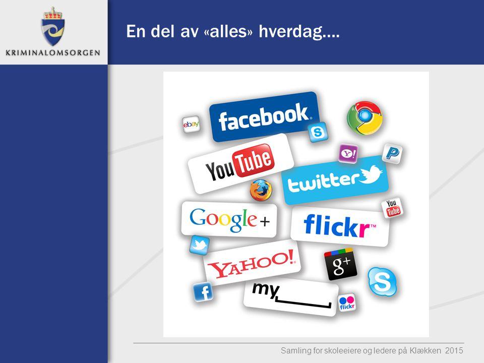 Tingenes internet Samling for skoleeiere og ledere på Klækken 2015