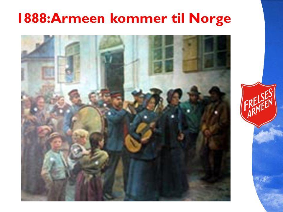 1888:Armeen kommer til Norge