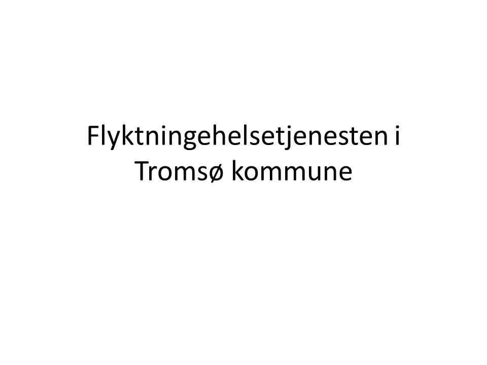 Flyktningehelsetjenesten i Tromsø kommune