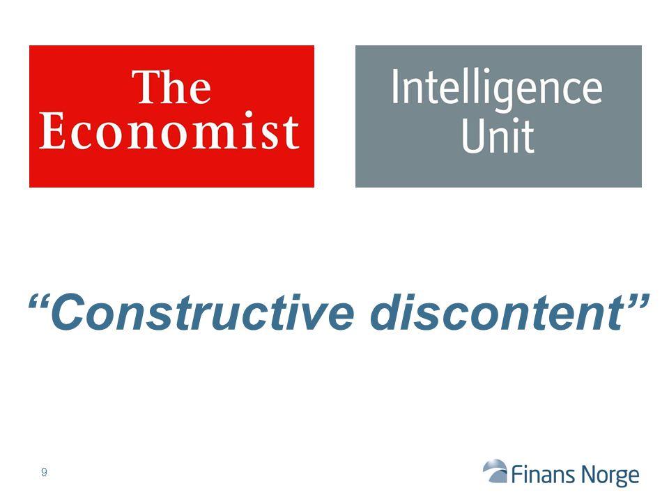 """Constructive discontent"" 9"