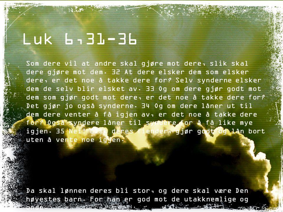 Matt 13,31-32 «Himmelriket er likt et sennepsfrø som en mann tok og sådde i åkeren sin.