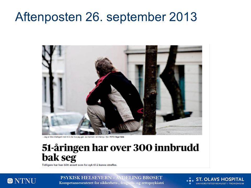 Aftenposten 26. september 2013