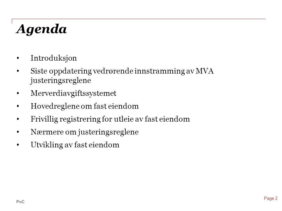 PwC Justeringsperiode MVA 2011 Maskiner, inventar mv.