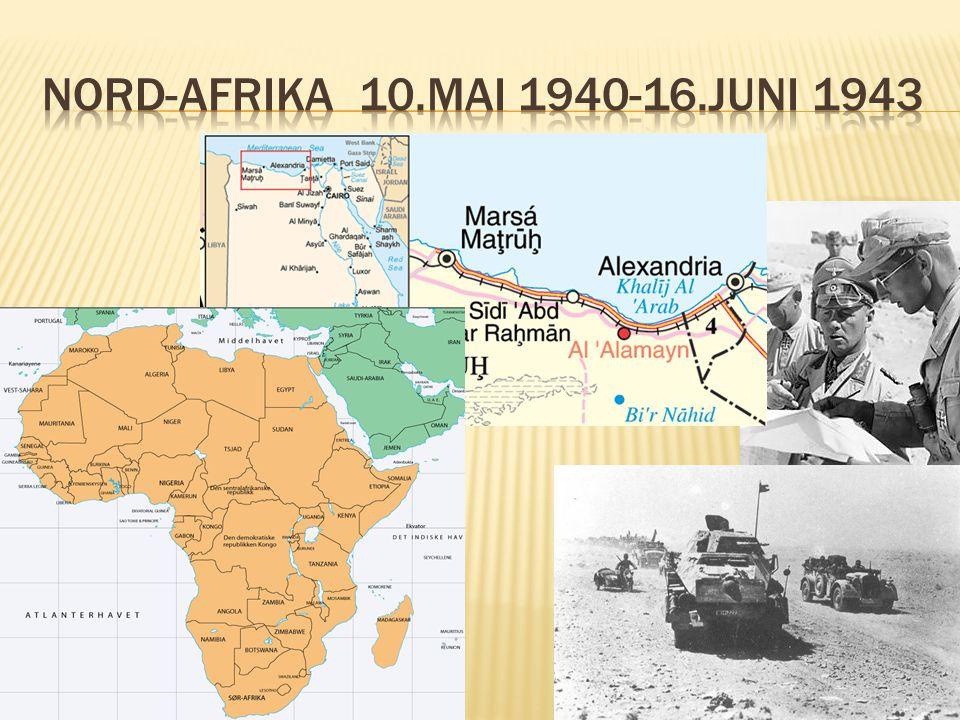  De allierte angrep i Normandie 6.