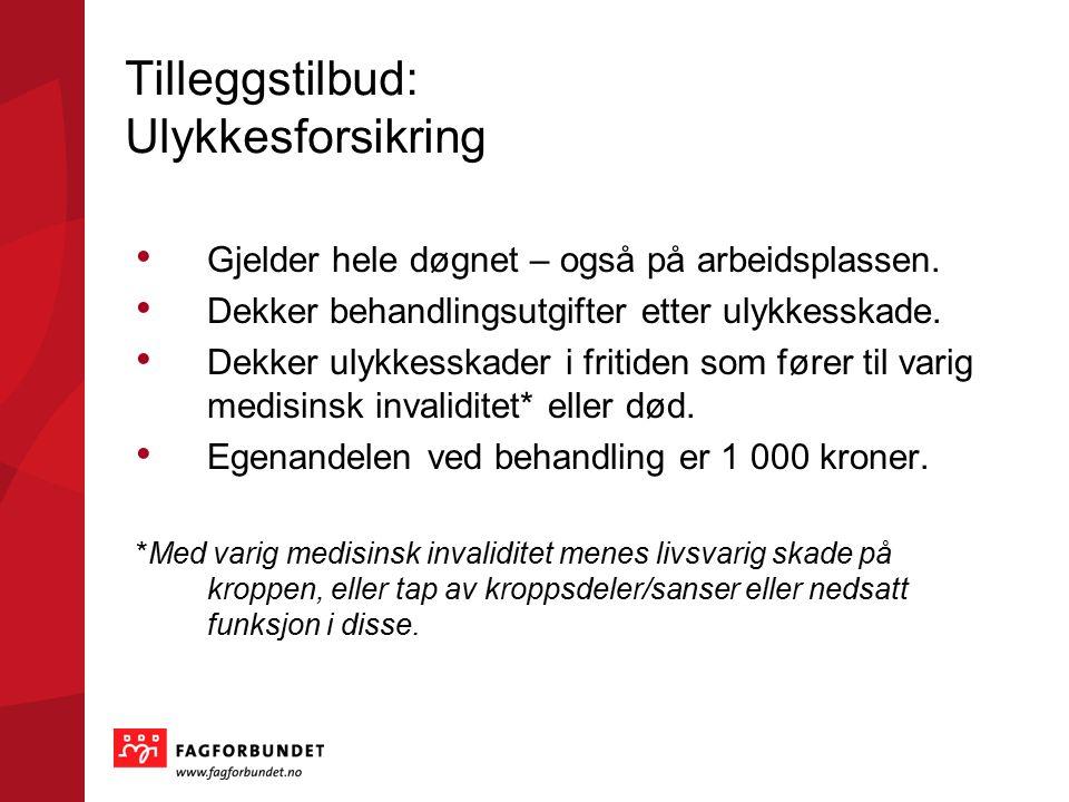 For mer informasjon: www.fagforbundet.no www.fagforbundet.no/sykepleier Klikk liker på Fagforbundets sykepleiere