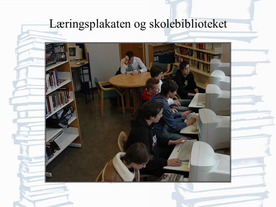 Læringsplakaten og skolebiblioteket