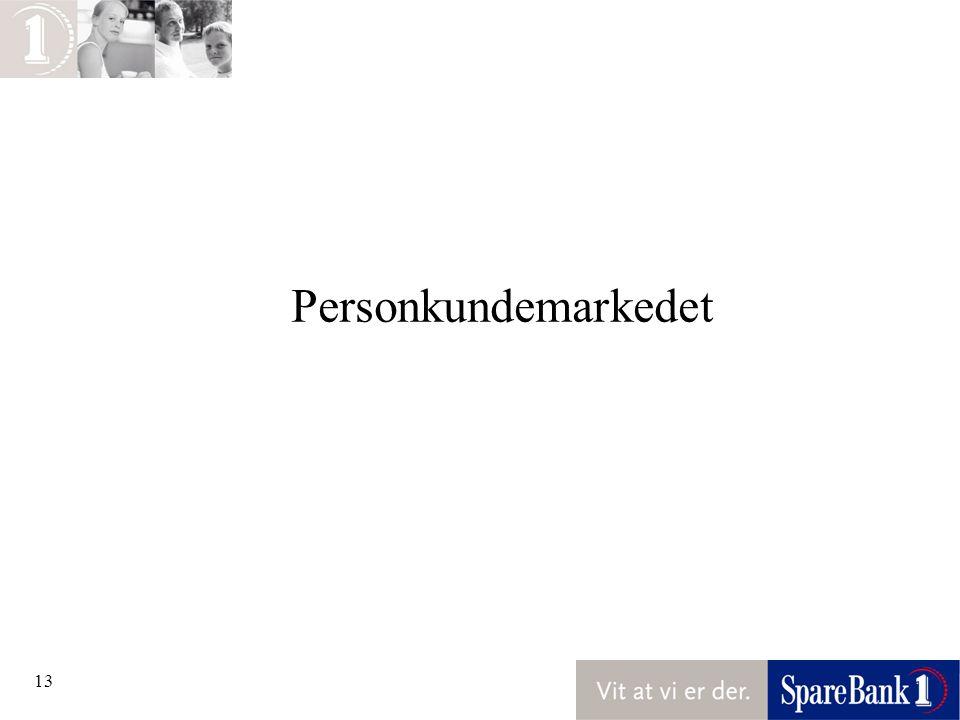 13 Personkundemarkedet