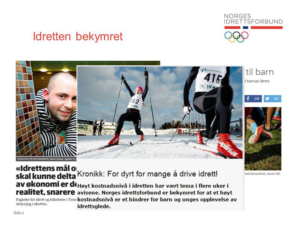 Side 9 Idretten bekymret