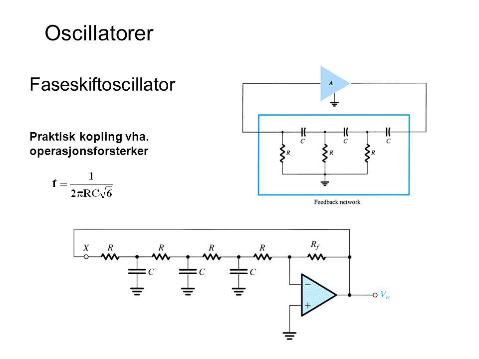 Wien Bridge Oscillator The feedback resistors are R 3 and R 4.
