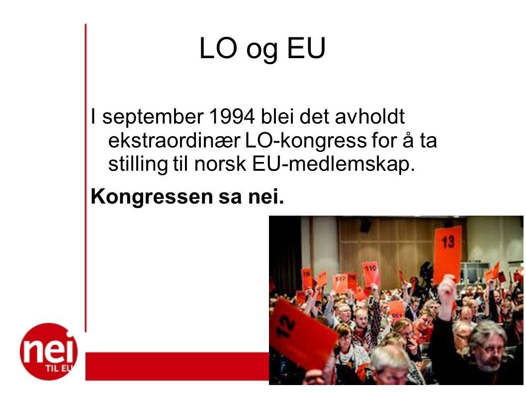 I for å ta stilling til norsk EU-medlemskap.