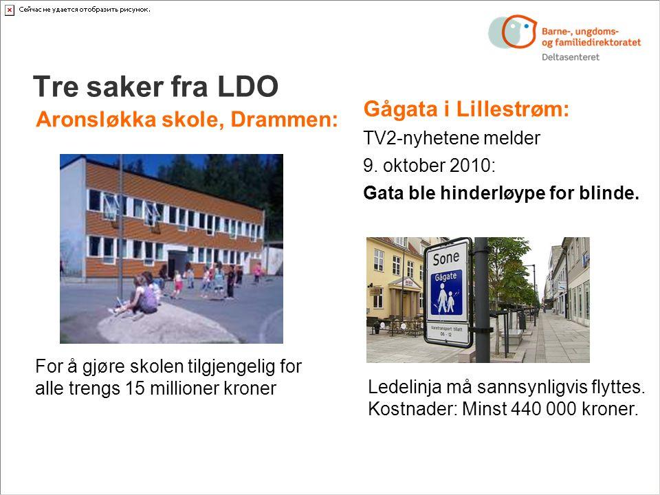 Tre saker fra LDO Gågata i Lillestrøm: TV2-nyhetene melder 9.
