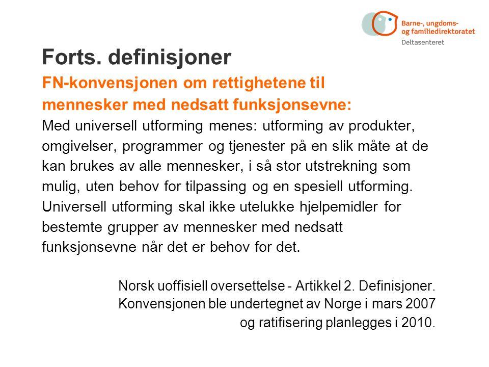Diskriminerings- og tilgjengelighetsloven § 1.
