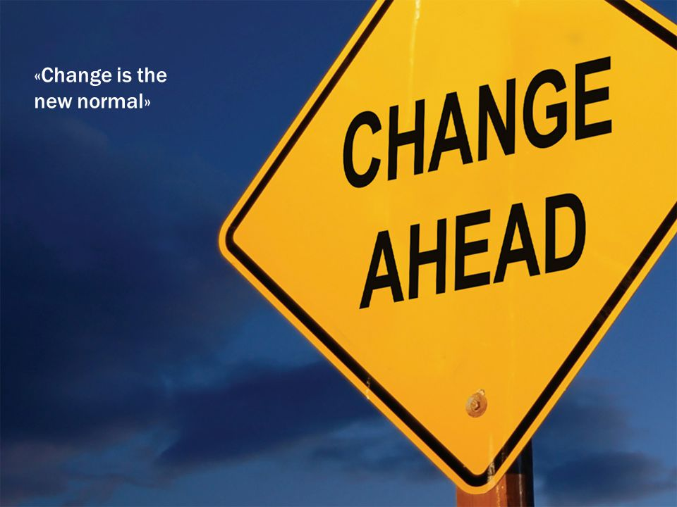 ue.no «Change is the new normal»