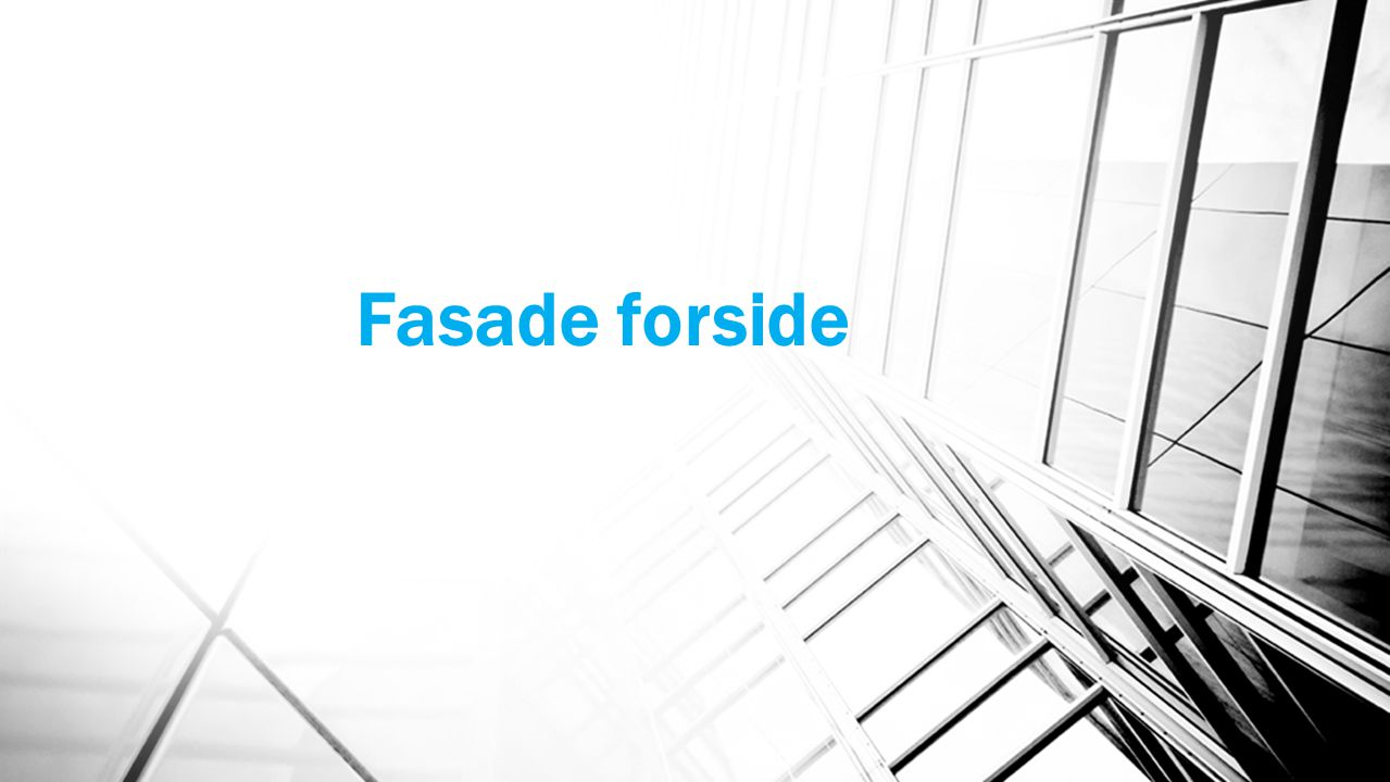 Fasade forside