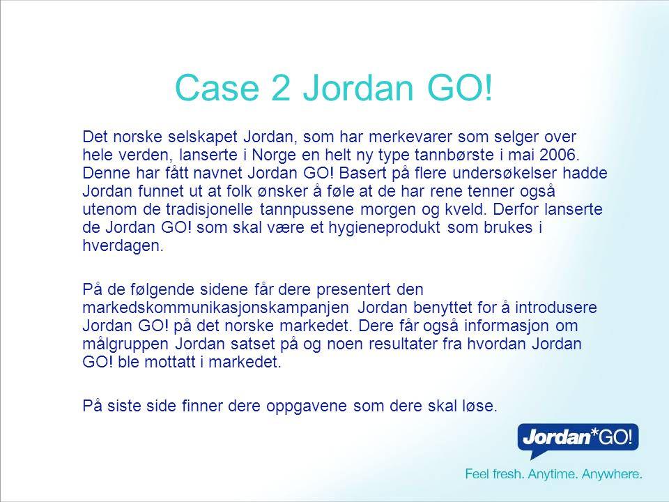 Case 2 Jordan GO.