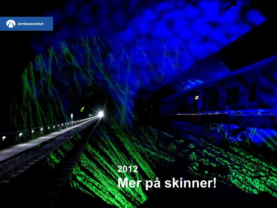 2012 Mer på skinner!