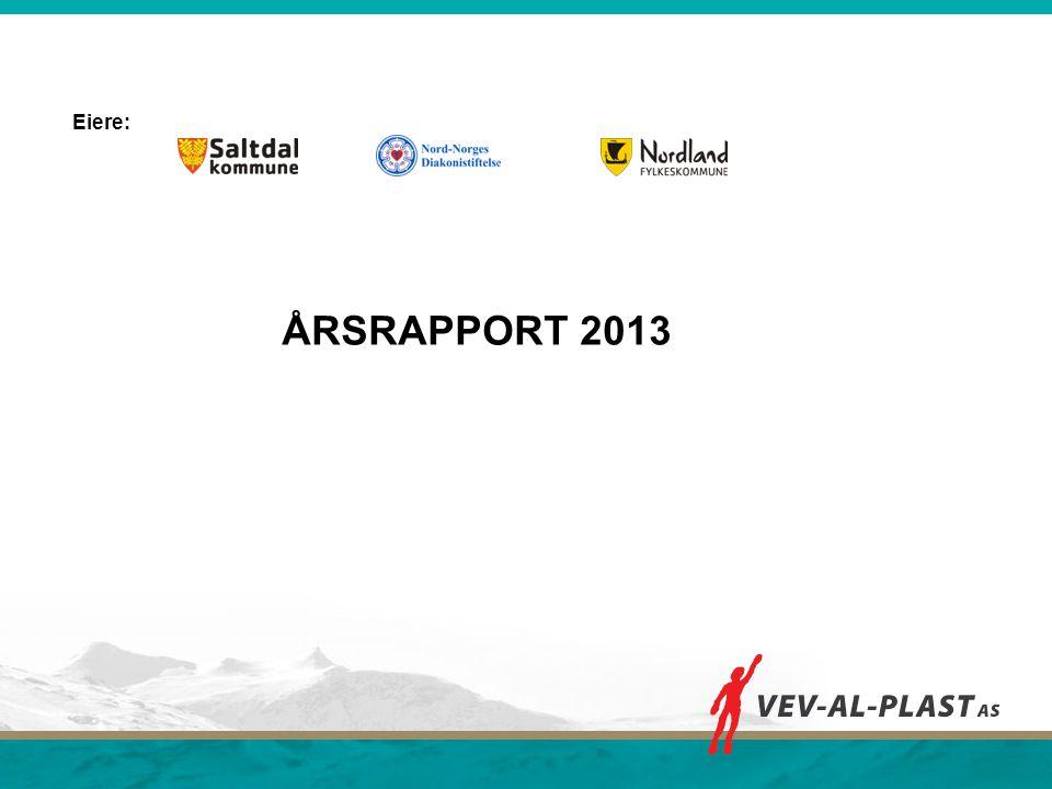 ÅRSRAPPORT 2013 Eiere: