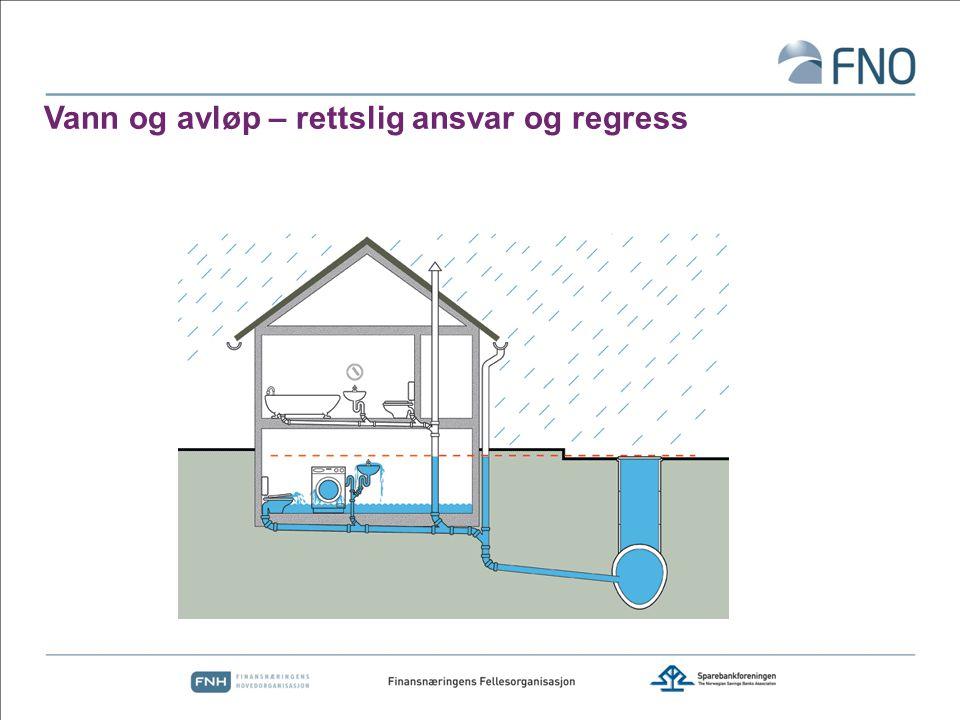 Vann og avløp – rettslig ansvar og regress