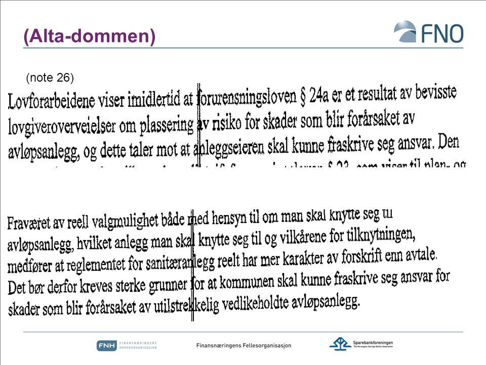 (Alta-dommen) (note 26)