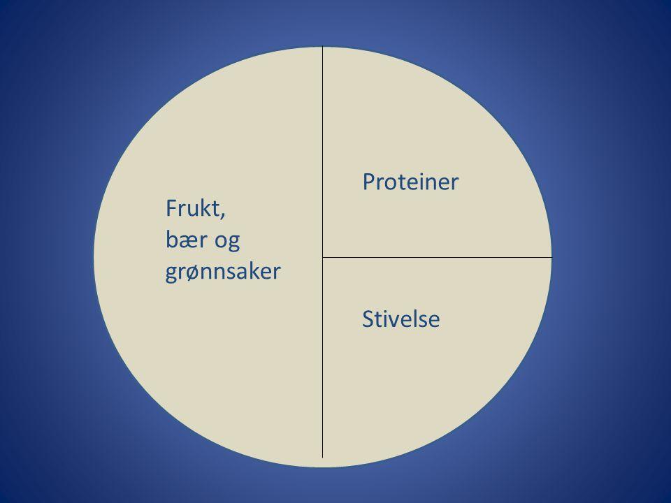 Proteiner Stivelse Frukt, bær og grønnsaker