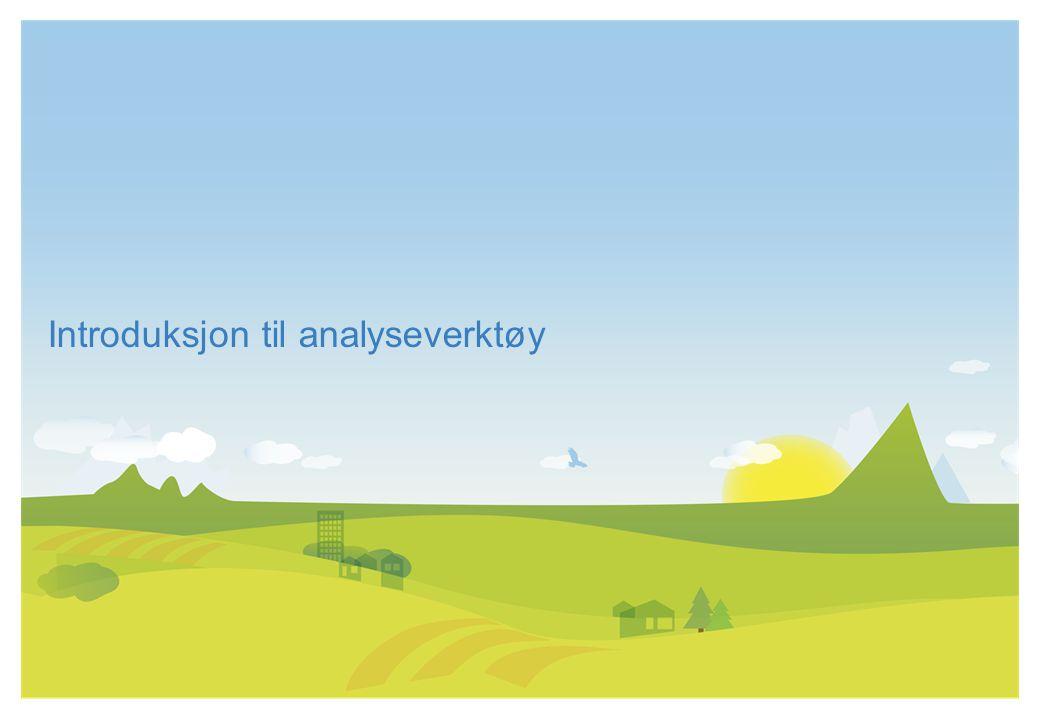 Introduksjon til analyseverktøy