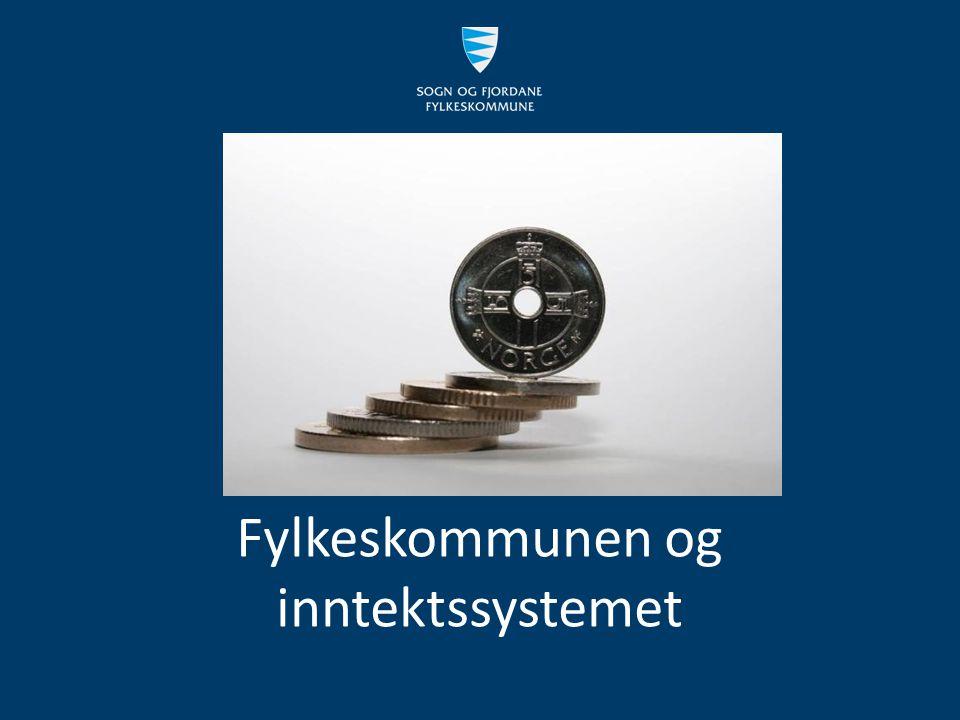 Fylkeskommunen og inntektssystemet