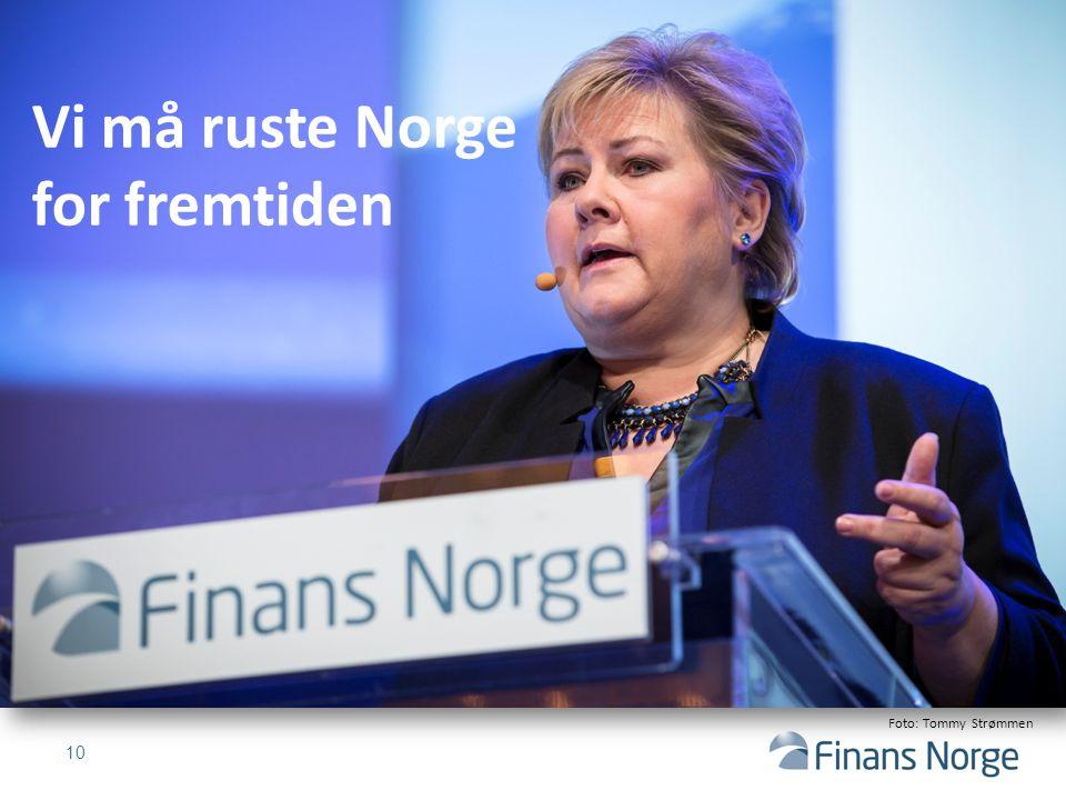10 Vi må ruste Norge for fremtiden Foto: Tommy Strømmen