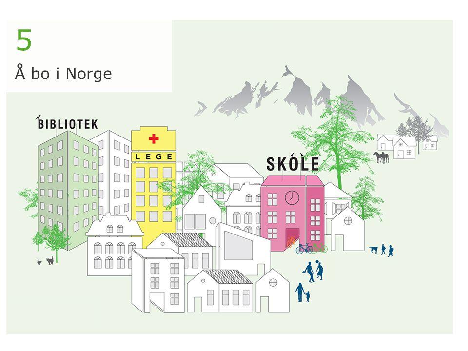 5 Å bo i Norge