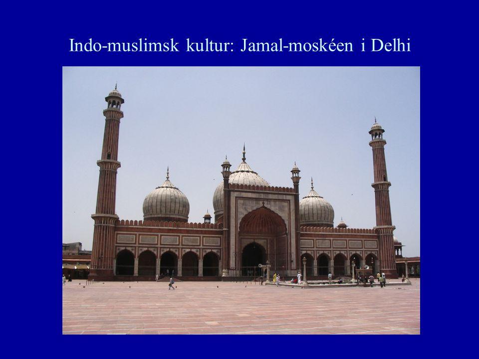 Indo-muslimsk kultur: Jamal-moskéen i Delhi