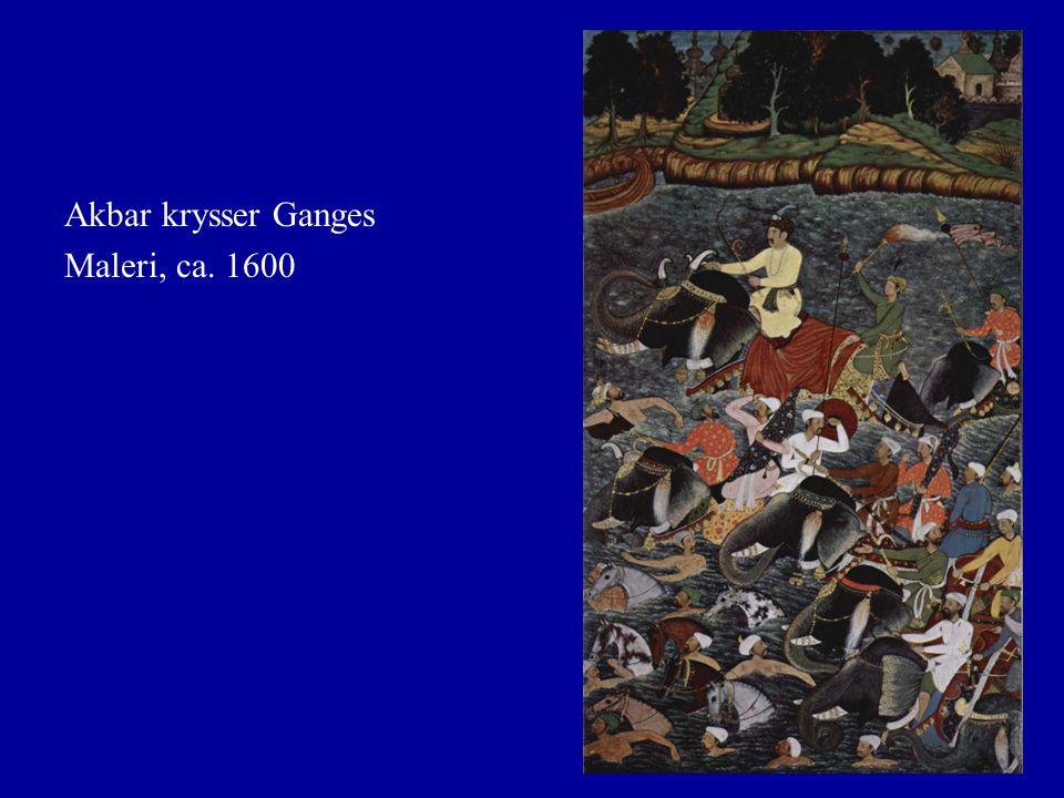 Etterfølgerstatene Aurangzeb dør 1707.