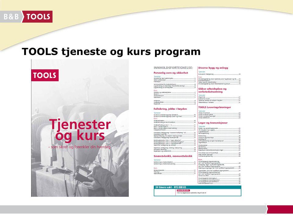 TOOLS tjeneste og kurs program