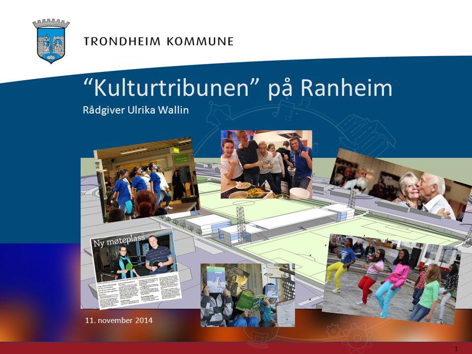 "Foto: Carl-Erik Eriksson ""Kulturtribunen"" på Ranheim Rådgiver Ulrika Wallin 11. november 2014 1"