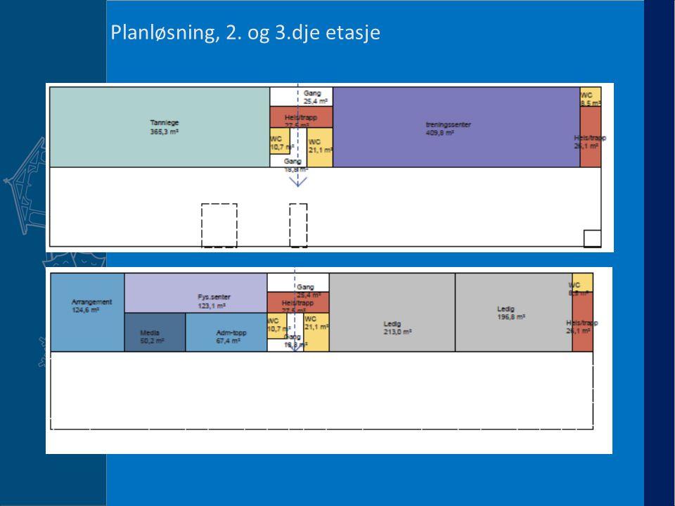 Planløsning, 2. og 3.dje etasje 6