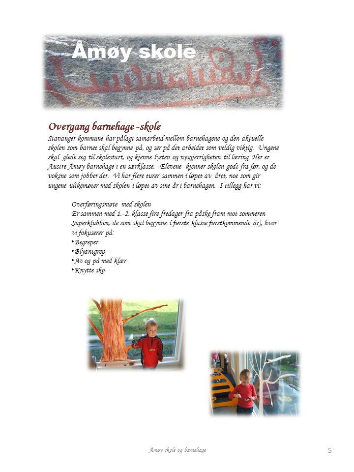 Overgang barnehage -skole Stavanger kommune har pålagt samarbeid mellom barnehagene og den aktuelle skolen som barnet skal begynne på, og ser på det a