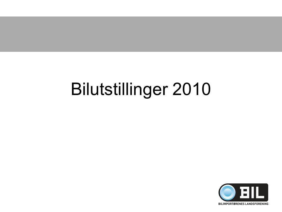 Bilutstillinger 2010